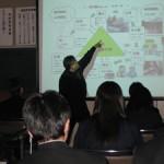 松江市立玉湯中学校:森とのふれあい活動
