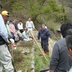 「龍頭が滝」遊歩道周辺の環境づくり活動