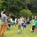 松江市立持田小学校福原地区子供会:森とのふれあい活動