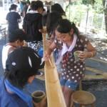 荒島交流センター:森とのふれあい活動